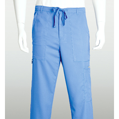 BRC0203X-40-3XL - Grey's AnatomyMens 6-Pocket Utility Scrub Pants