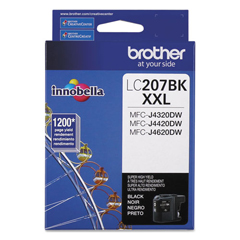 BRTLC207BK - Brother LC2072PKS, LC207BK Ink