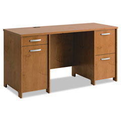 BSHPR76360A1 - Office Connect by Bush Furniture Envoy Series Double Pedestal Desk
