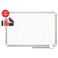 BVCCR1230830A - MasterVision® Grid Platinum Plus Dry Erase Board