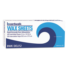 BWKDELI12BX - Boardwalk® Interfold-Sheet Deli Paper
