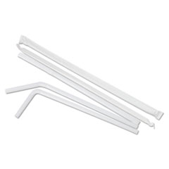 BWKFSTW775W25PK - Boardwalk Flexible Wrapped Straws