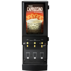 WCSCAFEPC3CL10000 - Wilbur CurtisG3 Primo Cappuccino Three Station with Illuminated Box