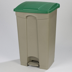 CFS34614609EA - CarlisleStep-On Container 23 Gal - Green