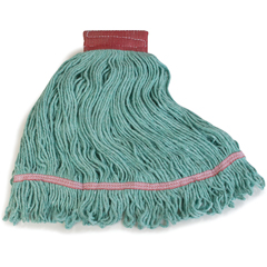 CFS369484B09CS - CarlislePremium Large Green Yarn Mop Heads with Red Band