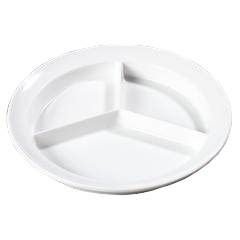 CFSKL20302CS - CarlisleKingline™ 3-Compartment Plate