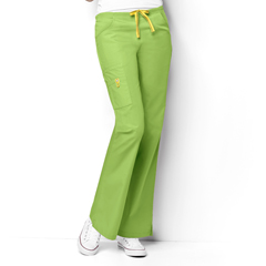 CID5026T-GAP-MT - WonderWinkRomeo - 6-Pocket Flare Leg Pant