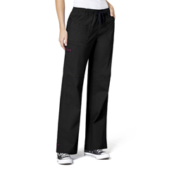 CID5108A-BLK-XXS - WonderWinkFaith Multi-Pocket Cargo Pant