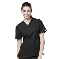 CID6016X-BLK-4XL - WonderWinkBravo - 5-Pocket V-Neck Top