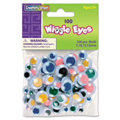 CKC344601 - Creativity Street® Wiggle Eyes Assortment