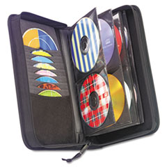 CLGCDW64 - Case Logic® Nylon CD/DVD Wallet