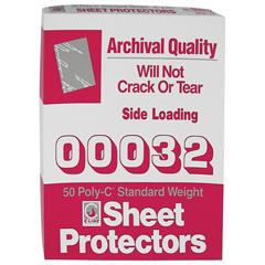 CLI00032BNDL3BX - C-Line ProductsStandard Weight Traditional Poly Sheet Protectors, 11 x 8 1/2