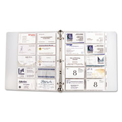 CLI61217 - C-Line® Looseleaf Business Card Protectors