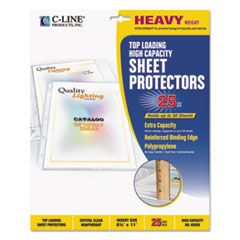 CLI62020 - C-Line® High-Capacity Sheet Protector