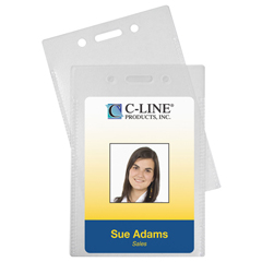 CLI89923BNDL2PK - C-Line ProductsProximity Badge Holders, Vertical