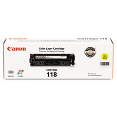 CNM2659B001 - Canon 2659B001 (118) Toner, 2900 Page-Yield, Yellow