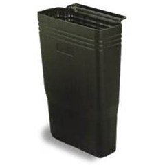 CON5812BK - ContinentalBussing Cart Refuse Bins