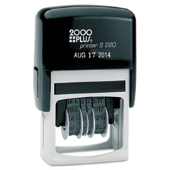 COS010129 - COSCO 2000 PLUS® Economy Self-Inking Dater