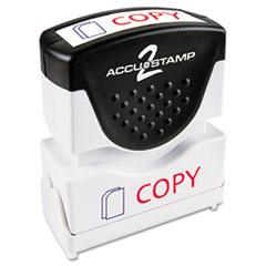 COS035532 - Accustamp2 Pre-Inked Shutter Stamp with Microban®