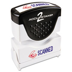 COS035606 - Accustamp2 Pre-Inked Shutter Stamp with Microban®