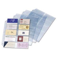 CRD7856000 - Cardinal® Vinyl Business Card Refill Pages