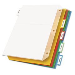 CRD84009 - Cardinal® Ring Binder Divider Pockets w/Index Tabs