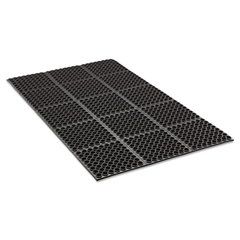 CWNWSTF35BK - Crown Safewalk™ Heavy-Duty Anti-Fatigue Drainage Mat