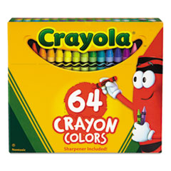 CYO52064D - Crayola® Classic Color Pack Crayons