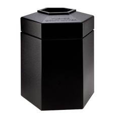 CZP737201 - Commercial Zone Products45-Gallon Hexagon Waste Container