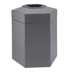 CZP737203 - Commercial Zone Products45-Gallon Hexagon Waste Container