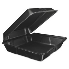 DCC95HTB1R - Dart Foam Hinged Lid Containers