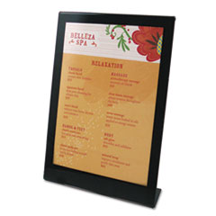 DEF69575 - deflect-o® Superior Image® Black Border Sign Holder