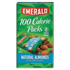 DFD34325 - Emerald All Natural Almonds 100 Calorie Packs