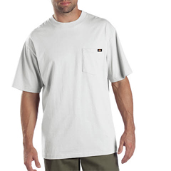 DKI1144624-WH-6X - DickiesMens Short Sleeve Tee Shirts, Two Pack