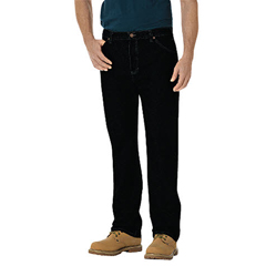 DKI14293-RBB-40-32 - DickiesMens Regular-Fit Straight Fit 6-Pocket Jeans