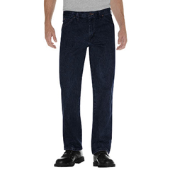 DKI17293-RNB-38-32 - DickiesMens Regular-Fit 5-Pocket Jeans