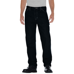 DKI1994-RNB-38-30 - DickiesMens Relaxed-Fit Straight-Leg Carpenter Jeans