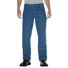 DKI20694-SNB-38-30 - DickiesMens Relaxed-Fit Double-Knee Carpenter Jeans