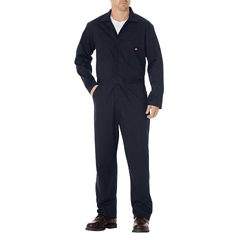 DKI48300-DN-XL-TL - DickiesMens Long Sleeve Cotton Twill Coverall