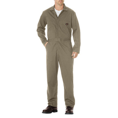 DKI48300-KH-L-RG - DickiesMens Long Sleeve Cotton Twill Coverall