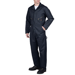 DKI48799-DN-XL-S - DickiesMens Long Sleeve Twill Coveralls