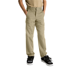 DKI56562-DS-12-S - DickiesBoys Flat-Front Pants