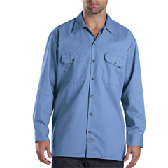 DKI574-GB-M - DickiesMens Long Sleeve Work Shirts