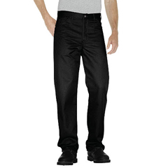 DKIC7988-BK-32-30 - DickiesMens Regular-Fit Staydark Jeans
