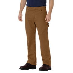 DKIDU260-RBD-38-30 - DickiesMens Relaxed-Fit Straight Double-Knee Jeans