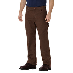 DKIDU260-RTB-34-32 - DickiesMens Relaxed-Fit Straight Double-Knee Jeans