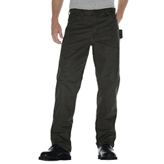 DKIDU336-RMS-38-32 - DickiesMens Relaxed-Fit Sanded Duck Carpenter Jeans