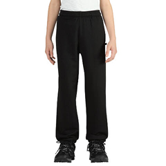 DKIKP402-BK-L - DickiesBoys Fleece Pants with Banded Hem