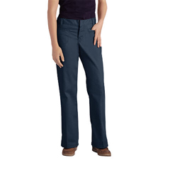 DKIKP7711-DN-17 - DickiesJuniors Stretch Welt Pocket Flare-Bottom Pants