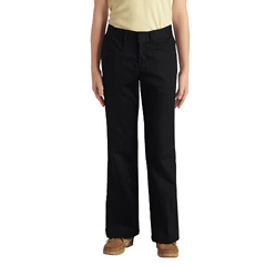 DKIKP969-BK-15 - DickiesJuniors Stretch Flare-Bottom Pants